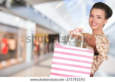 Shopping Bag, Shopping, Gift.