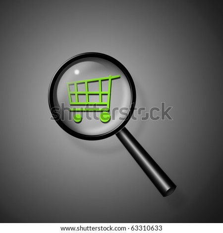 Shopping Cart - stock photo