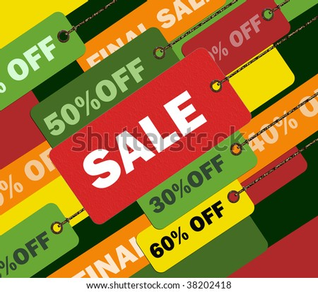 Shopping concept illustration image you can use it for any sale time or seasons