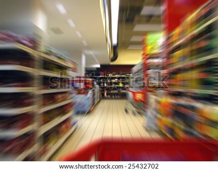 Shopping spree - stock photo