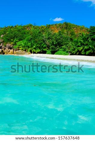 Shore Dream Panorama  - stock photo
