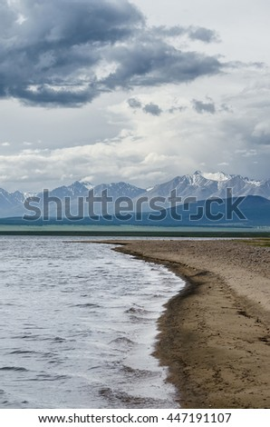 Shore of Lake Hovsgol, Mongolia