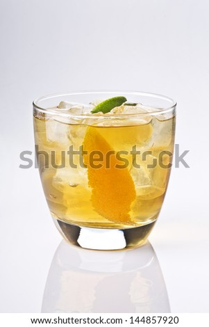 short drink - stock photo