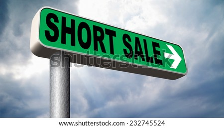 short sale reduced prices sales banner mortgage foreclosure and house repossession
