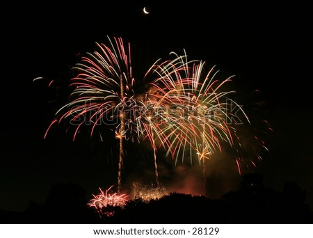 Shot at the Bunnings Skyshow, Adelaide 2004 - stock photo
