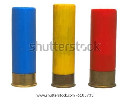 shot-gun shelf (16, 20, 12) - isolated - stock photo
