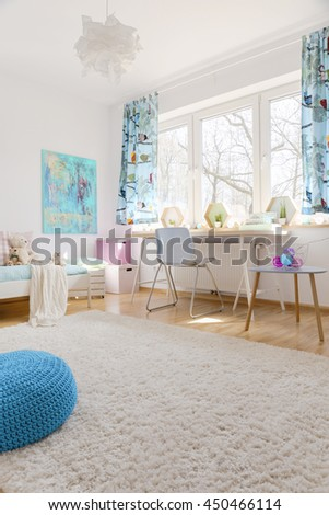 Shot of a cosy children's room full of light