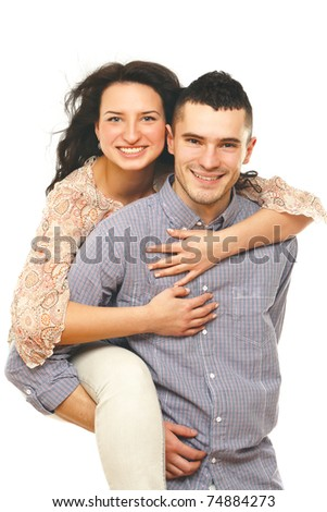 Shot of a loving couple