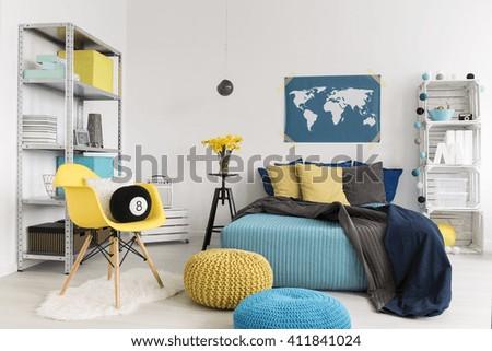 Up Of Marriage Bed In Cozy Bedroom Modern 3d Interior Bedroom Modern