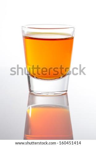 Shot of Whiskey - stock photo
