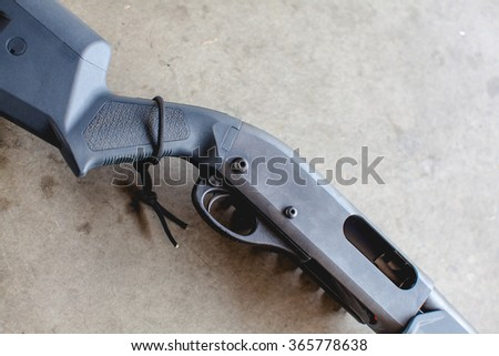 shotgun - stock photo