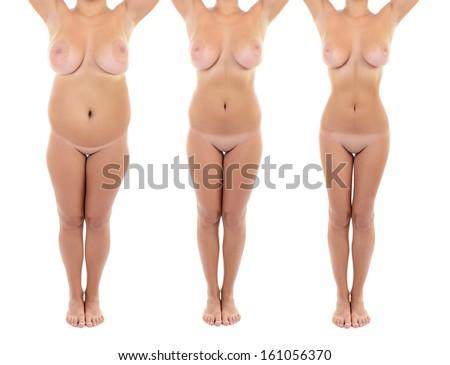 nude redhead petite women