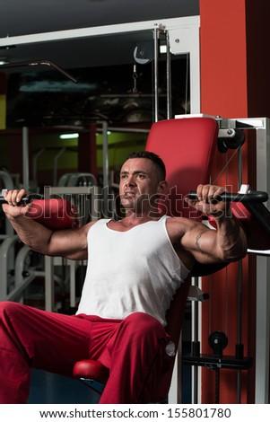 Shoulder Exercises - stock photo