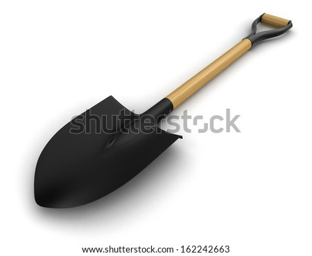Shovel (clipping path included)