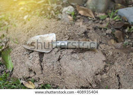 Shovel spoon - tool for digging soil for 