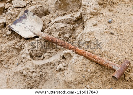 shovels old - stock photo