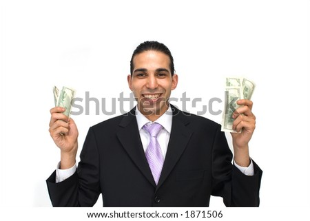 show me the money - stock photo