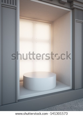 Showcase window