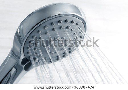 Shower head   - stock photo