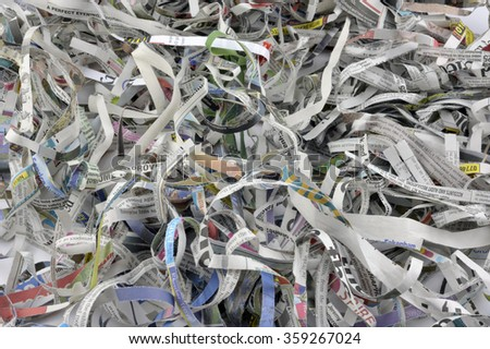can shredded paper be recycled Why shredwhat should i shredhow long should i keep sensitive documentscan i recycle shredded papersuggested items to shred why shred.