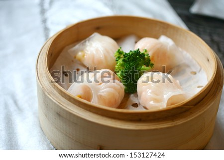 Shrimp dumplings - stock photo