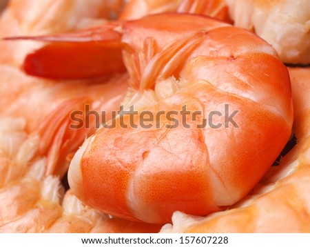 Shrimps texture