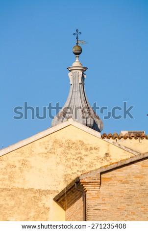Shrine of Our Lady of Loreto , Loreto , Ancona , Marche , Italy - stock photo