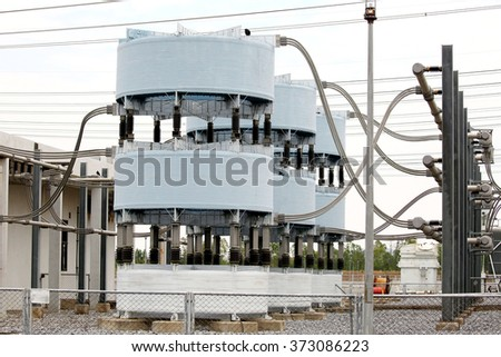 Shunt Reactor Spherically : maintaining voltage in high voltage station