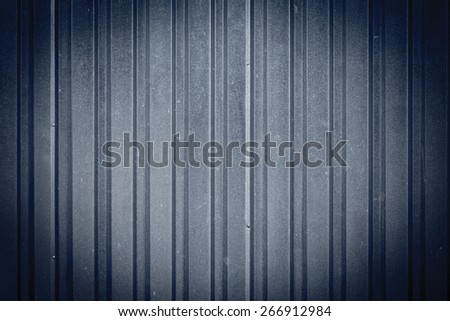Shutter steel metal door texture as a background - stock photo