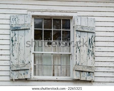 shutters - stock photo