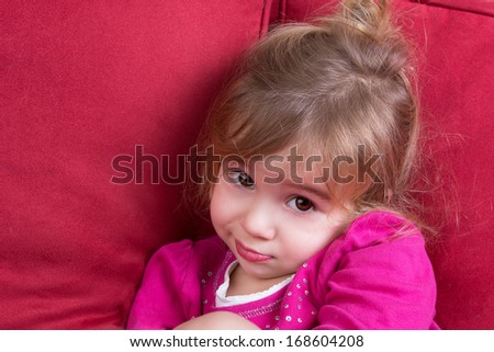 Shy Child Stock Images Royalty Free Images Amp Vectors