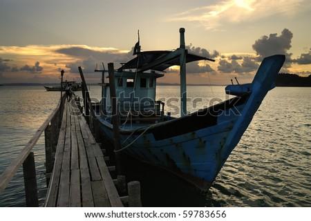 Sibu Island Malaysia - stock photo