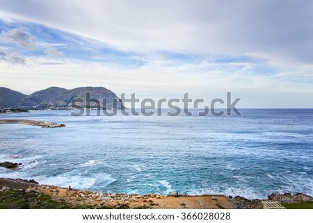 Sicilian Coastline in the morning
