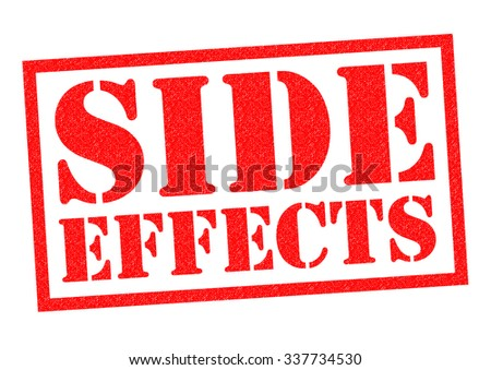 Side effects icon stock images royalty free images Which side does a stamp go on