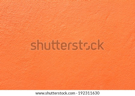Side of orange wall  - stock photo