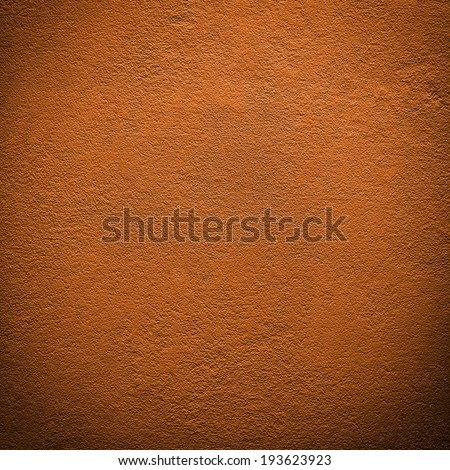 Side of orange wall