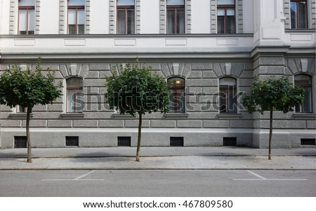 city building side. Side Parking City View Parking City View Stock Photo  Royalty Free 467809580