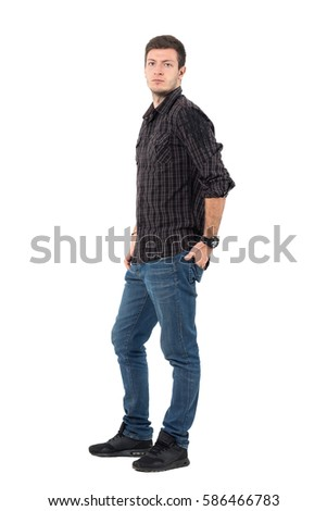 Man Standing Side Stock Images, Royalty-Free Images ...