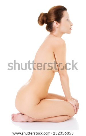 Nude Girl On Side By Side