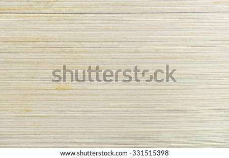 Side view of stack of papers texture or background - stock photo