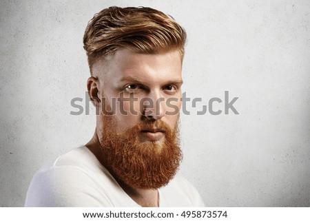 Excellent Beard Stock Photos Royalty Free Images Amp Vectors Shutterstock Short Hairstyles Gunalazisus