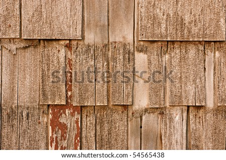 Siding, or shakes, background