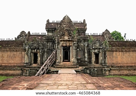 Siem reap, Cambodia. - JULY 31:2015.Banteay Samre is a temple at Angkor, Cambodia located east of the East Baray. it is a Hindu temple in the Angkor Wat style.