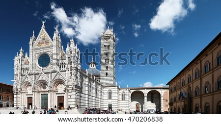 Siena Cathedral. Italy