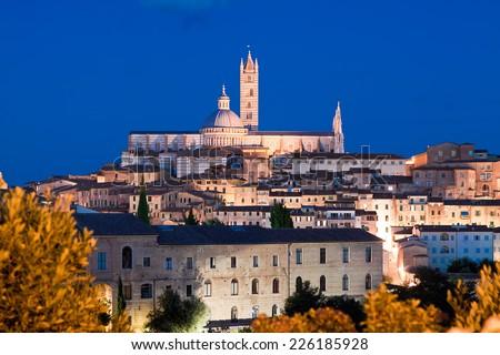 Siena Cathedral, Toscana, Italy - stock photo