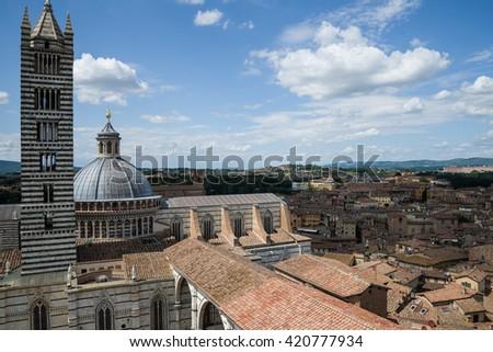 Siena cathedral, Tuscany, Italy, Europe. - stock photo