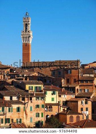 Siena, Italy - stock photo