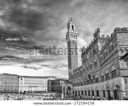 Siena, Tuscany. - stock photo