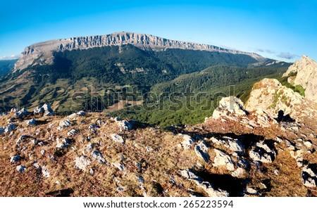Sierra De And���a, Navarre, Spain - stock photo