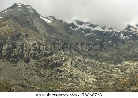 Sierra de Gredos panorama - stock photo